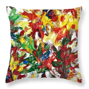 Diversity Of Colors Throw Pillow