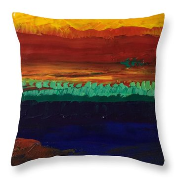 Divertimento Throw Pillow