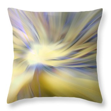 Divine Energy Throw Pillow