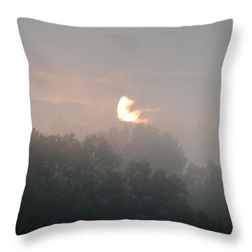 Divine Morning Blessings Throw Pillow