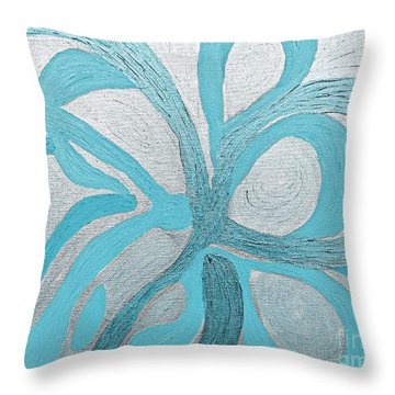 Divine Peace Throw Pillow