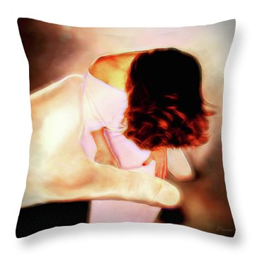 Divine Protection Throw Pillow