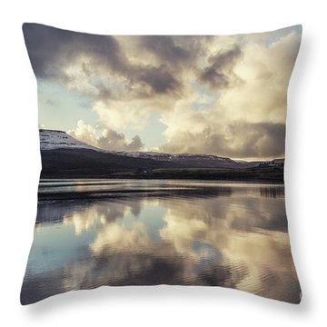Divine Serenity Throw Pillow