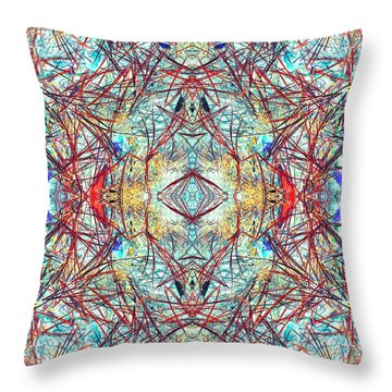 Divinity Of Now Throw Pillow