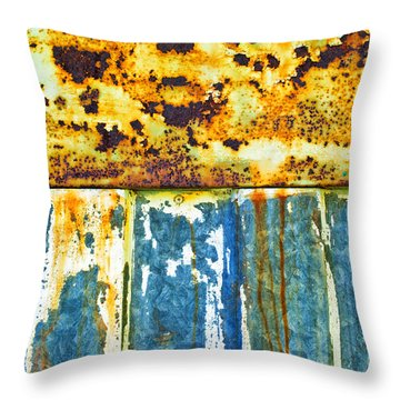 Division Throw Pillow by Silvia Ganora