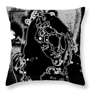 Dixie In Stars Throw Pillow