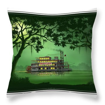 Dixie Lily Throw Pillow