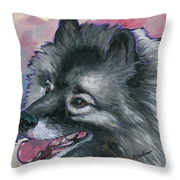 Dixie Throw Pillow by Nadi Spencer