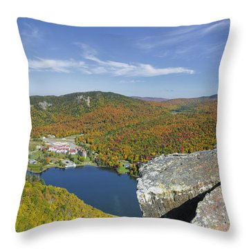 Dixville Notch State Park - Dixville Notch New Hampshire  Throw Pillow