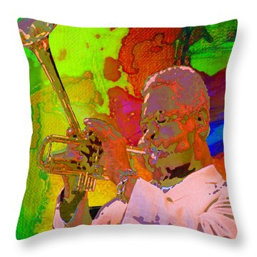 Dizzy Throw Pillow