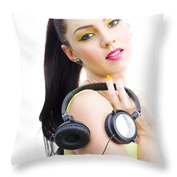 Sideway Throw Pillows