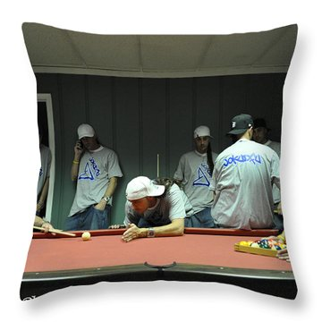 Dj Just Nick Photography Throw Pillow