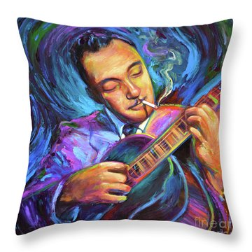 Django Reinhardt  Throw Pillow