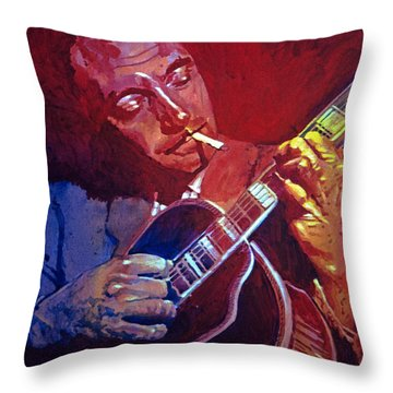Django Sweet Lowdown Throw Pillow