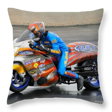 Dme Terence Angela Throw Pillow