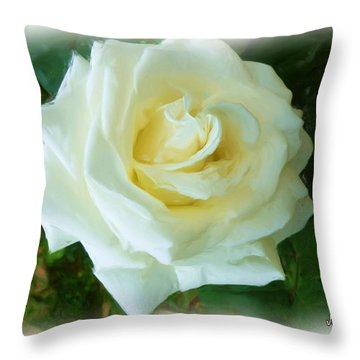 Throw Pillow featuring the photograph Do-00300 La Rose De Aaraya by Digital Oil