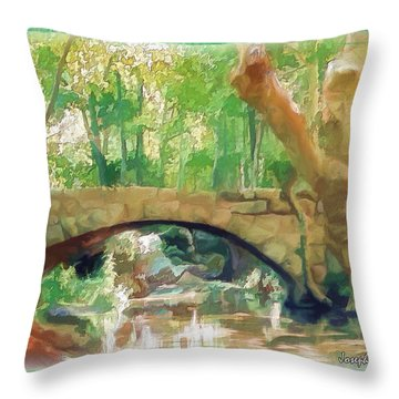 Do-00457 Janneh Bridge Throw Pillow