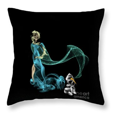Do I Want To Build A Snowman Throw Pillow