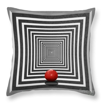 Do It Throw Pillow by Monika Juengling