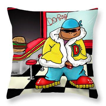 Do-rag Throw Pillow