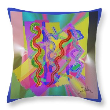 Do Thetwist  Throw Pillow