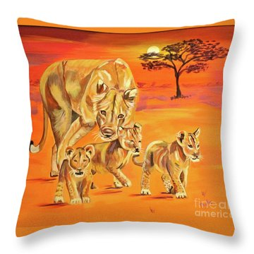 Do What Mom Says Throw Pillow