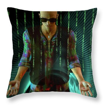 Throw Pillow featuring the digital art Do You Believe ...   In Fate? by Shadowlea Is