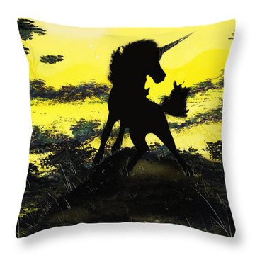 Do You Believe Throw Pillow