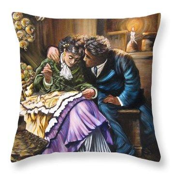 Historical    Do You Love Me? Throw Pillow