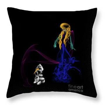 Do You Want To Build A Snowman Throw Pillow
