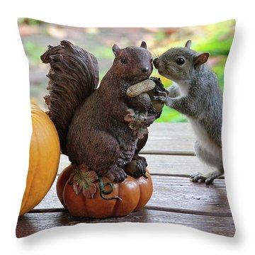 Do You Want To Share? Throw Pillow