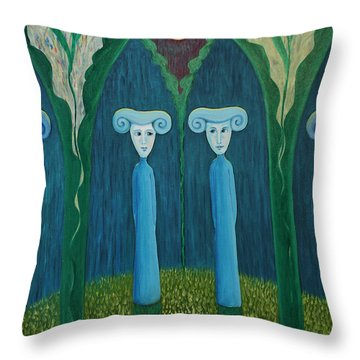 Do You Know What Day It Is Today? Throw Pillow