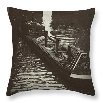 Dockland Daytime  Throw Pillow