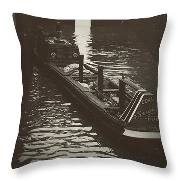 Dockland Daytime  Throw Pillow