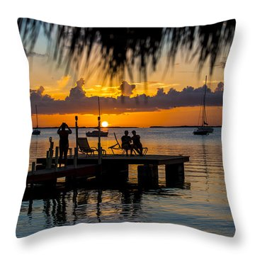 Docktime Throw Pillow