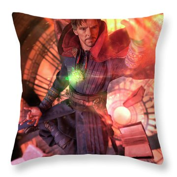 Throw Pillow featuring the photograph Doctor Is In by Pete Tapang
