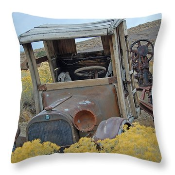 Dodge Brothers Pickup Throw Pillow