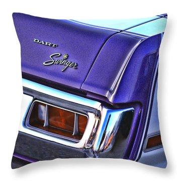 Dodge Dart Swinger Throw Pillow