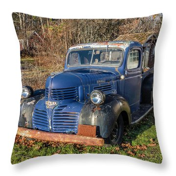 Dodge Pickup Throw Pillow