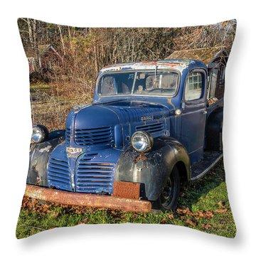 Dodge Pickup Throw Pillow