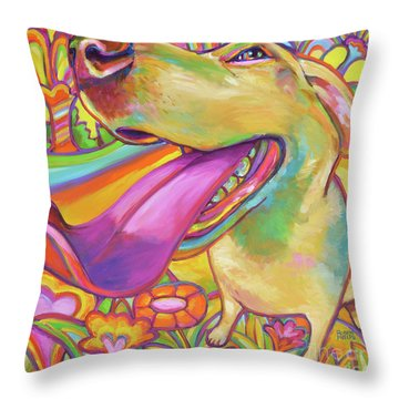 Dog Daze Of Summer Throw Pillow
