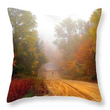 Dog Heaven Throw Pillow
