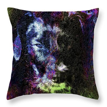 Dog Spirit Guide Throw Pillow