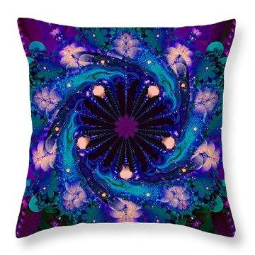 Dog Star Cluster Throw Pillow