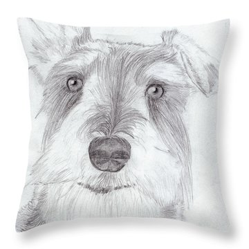 Doggie Throw Pillow
