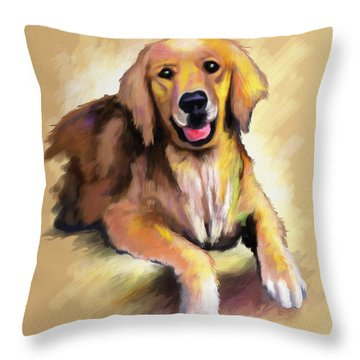 Doggy Woggy Throw Pillow