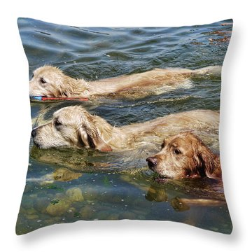 Dogs Are People Too Throw Pillow