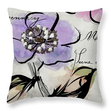 Dogwood II Throw Pillow