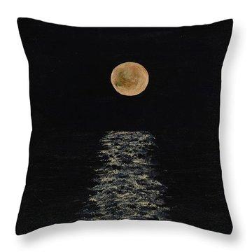 Doha Moonrise Throw Pillow