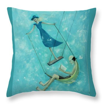 Doing The Swing Throw Pillow